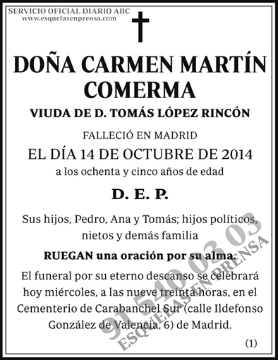 Carmen Martín Comerma